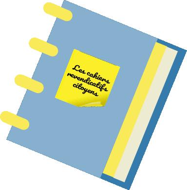 Les cahiers expressifs et  revendicatifs citoyens